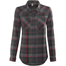 Fox Flown Flannel Shirt Women Midnight
